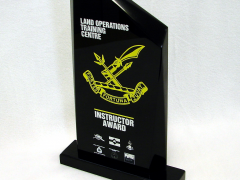 Custom Black Atlanta for Instructor Award - LOTC