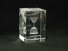 3d keepsake of the  Lupp Trophy - Motorsport-NZ
