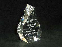 3d interpretation of logo and 3d signature | Ron Hooker Award