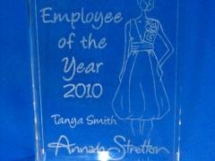 Employee of the Year - Annah Stretton