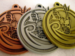 Die-Cast-Medal-Atlantis-Water-Polo