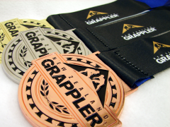NZ Grappler Medals