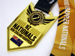 Die Cast Medal NZ Nationals NZ Grappler
