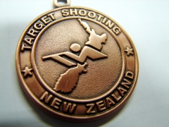Target Shooting New Zealand Medal