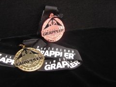 New Zealand Grappler Medal