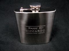 Riccardo's 50th Hipflask