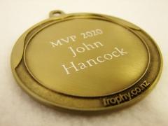 MVP 2020 - John Hancock - TSE Medal