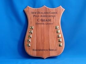 Horowhenua Shield for New Zealand Canoe Polo Association