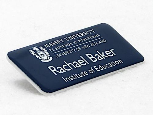 Photo of Name Badge for Institute of Education - Massey University